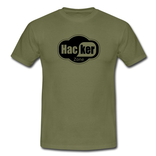 Hacker Zone - Männer T-Shirt