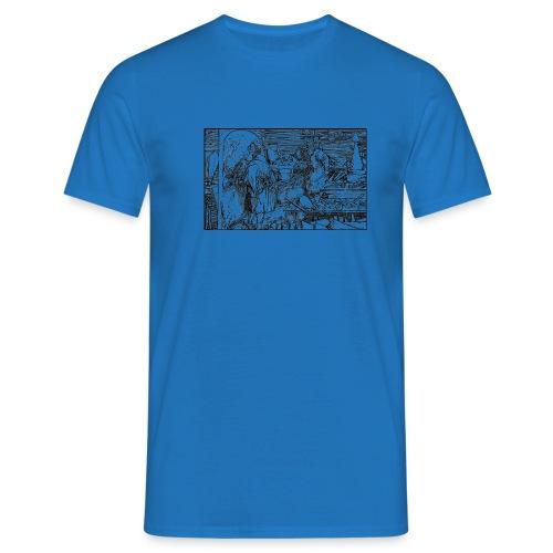 weiditz alchemist 1520 2new v1 - Men's T-Shirt