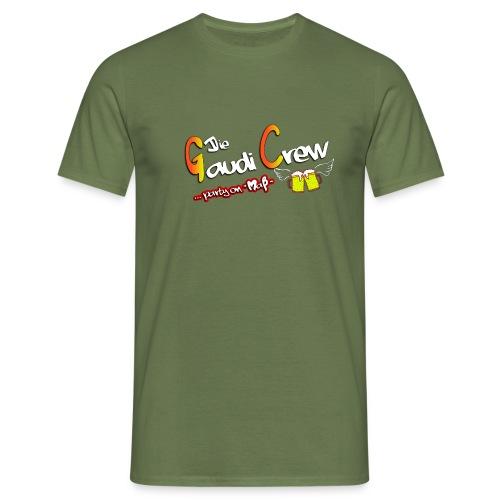 Gaudicrew-Logo - Männer T-Shirt
