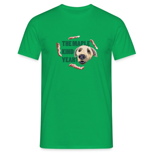 dogmaple3 - Men's T-Shirt