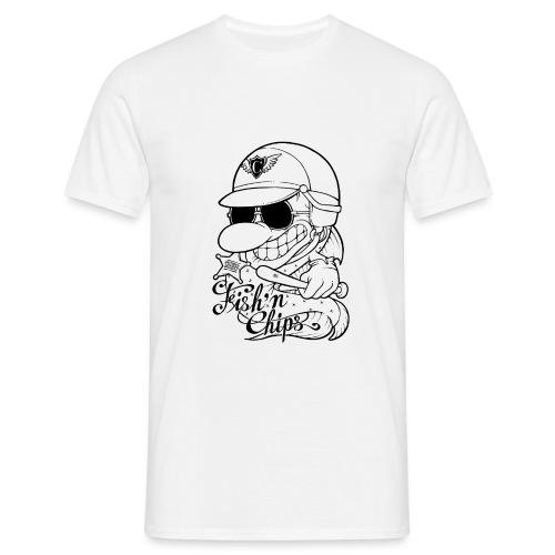 Fish'n Chips - Comics Design - T-shirt Homme