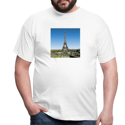 tour eiffel manga - T-shirt Homme