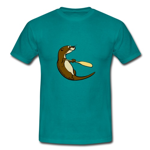 Song of the Paddle; Quentin classic pose - Men's T-Shirt
