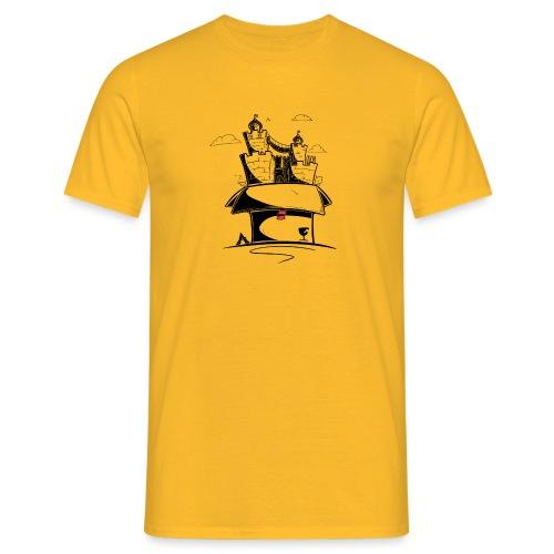 Kartonnen wereld - T-shirt Homme