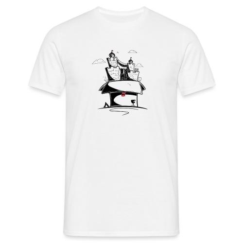 Monde en carton - T-shirt Homme