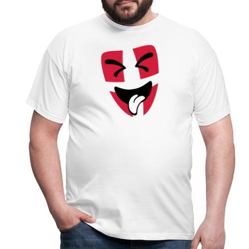 Wiener Schmäh Maske - Männer T-Shirt
