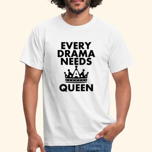 EVERY DRAMA black png - Men's T-Shirt