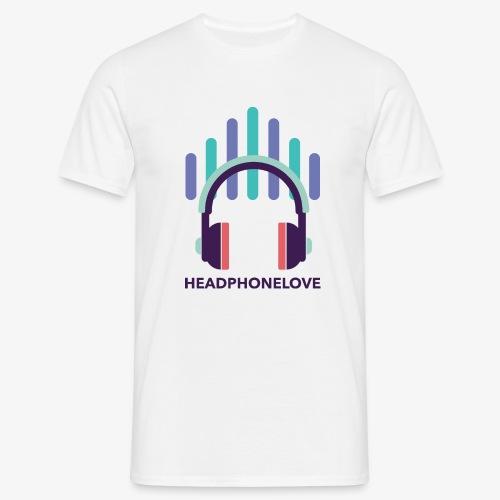 headphonelove - Männer T-Shirt