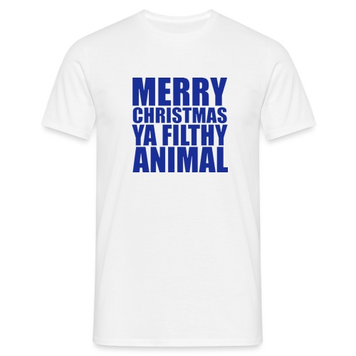 merry christmas png - Men's T-Shirt