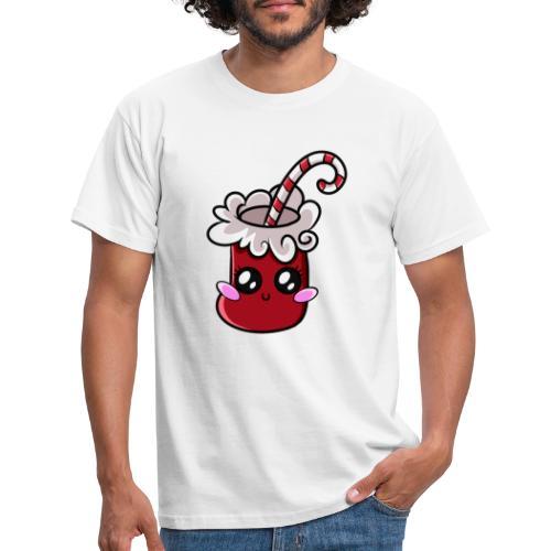 Chaussette de Noël Kawaii ! - T-shirt Homme