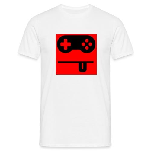 Logo Noobzocker - Männer T-Shirt