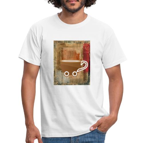 vintage coffee - Männer T-Shirt
