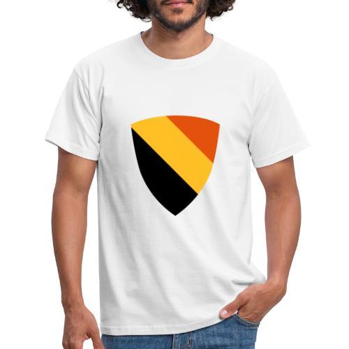 Belgium shield / Belgisch schild - driekleur - T-shirt Homme