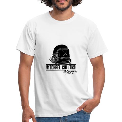 michaelcollins.rocks Logo Astronaut - Männer T-Shirt