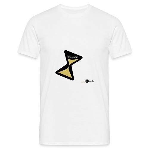 Sanduhr - Männer T-Shirt