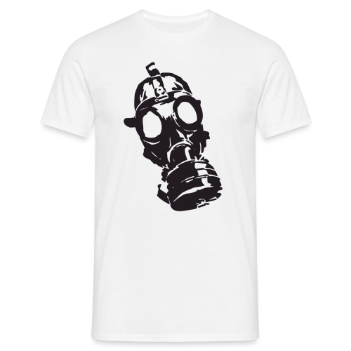gassmaskejohn png - T-skjorte for menn