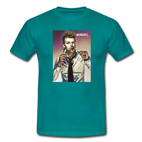 Rush hour on monday - Men's T-Shirt