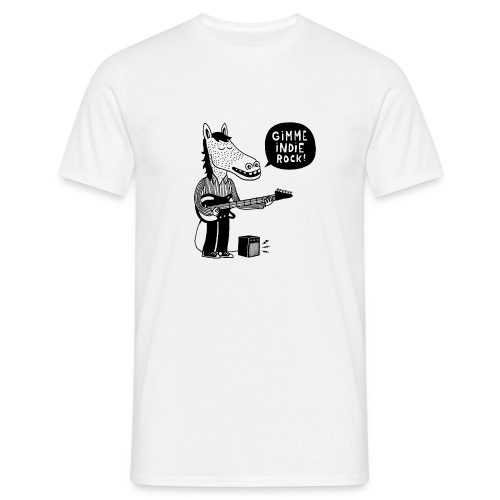 Gimme indie rock! - T-shirt Homme