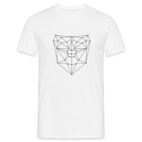 Facial Recognition Pattern - T-shirt Homme