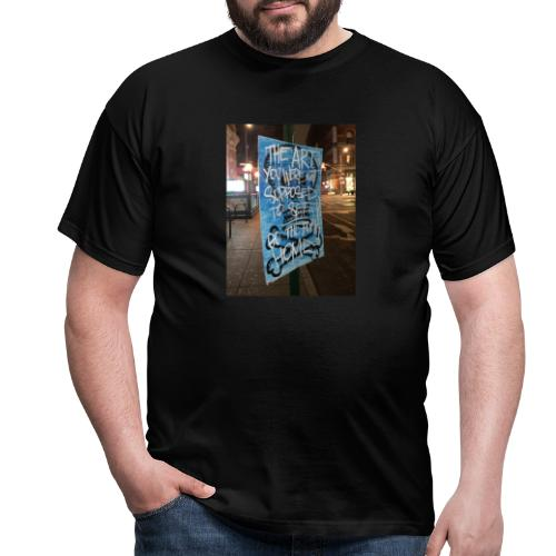 POLO K_T_M LA_FAMIGLIA X iorestoacasaArtistiUniti - Maglietta da uomo
