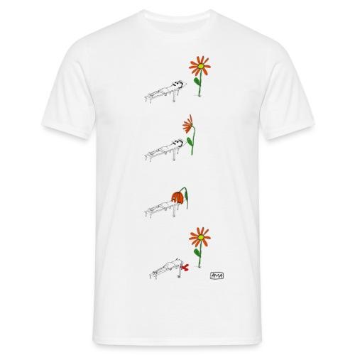 02 soling - T-skjorte for menn