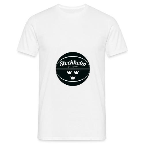 sthlm black 1 png - Men's T-Shirt