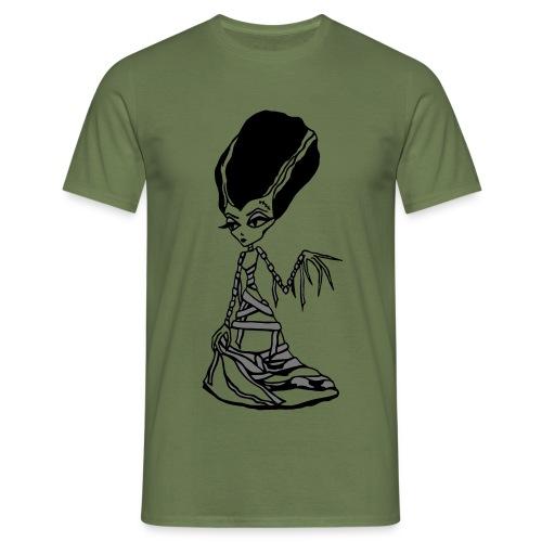 Franky Bride White 2 - Men's T-Shirt