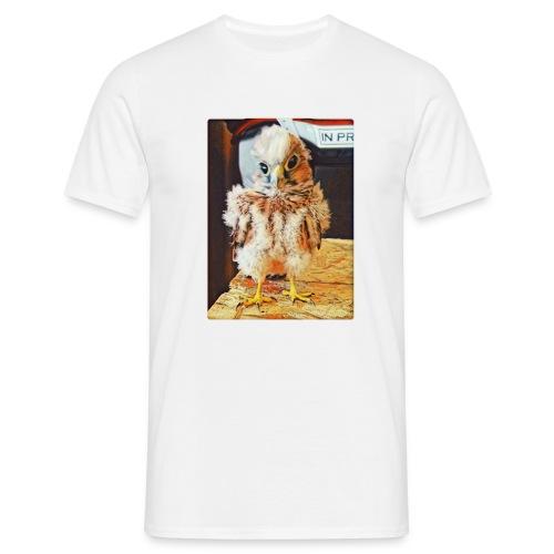 Crazy funny Bird - Männer T-Shirt
