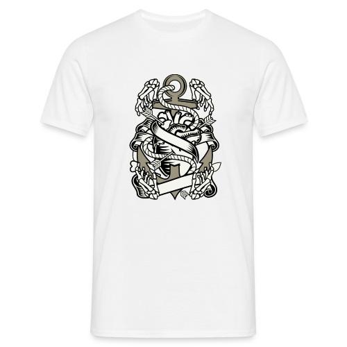 Heart and anchor - Mannen T-shirt