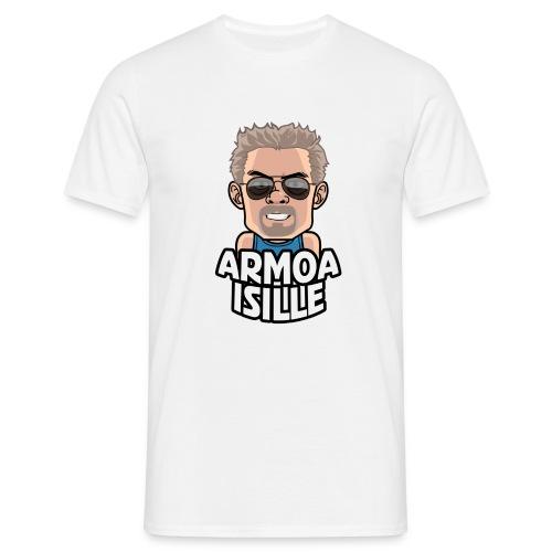 ai lasit valkoinenpohja - Miesten t-paita