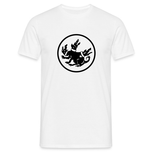cerberus logo rund - Männer T-Shirt