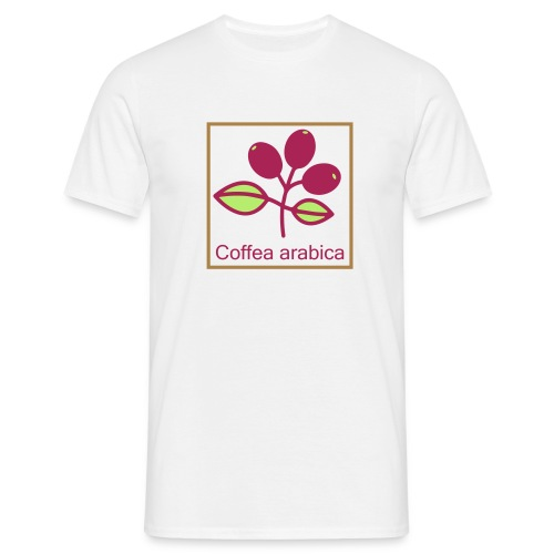 Coffea arabica - Männer T-Shirt