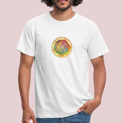 120 1205860 clip art flower of life wallpaper flow - T-shirt herr