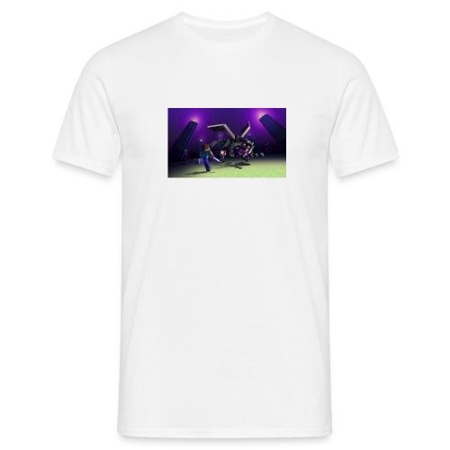 enderdraken vs steve - T-shirt herr