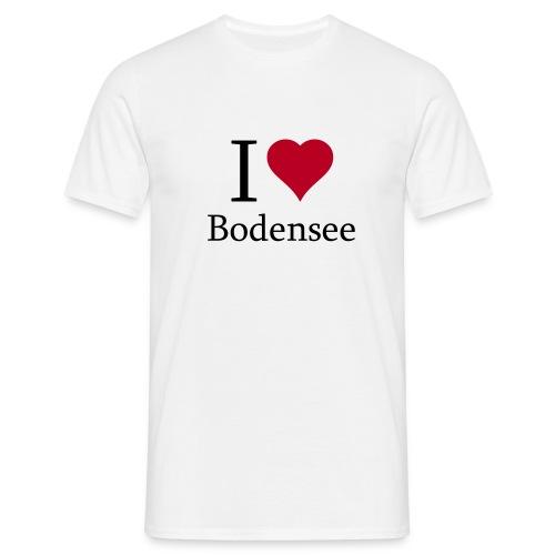 i love bodensee xfett - Männer T-Shirt