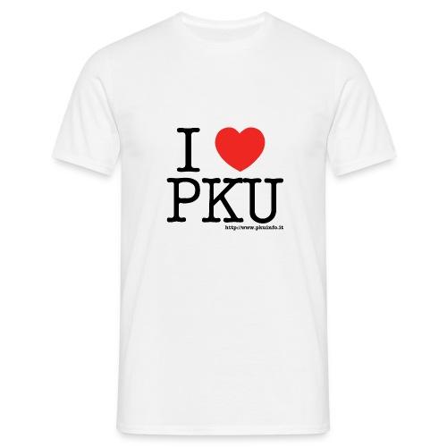 I love PKU - Maglietta da uomo