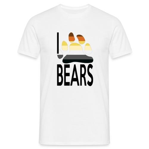I love bears - T-shirt Homme