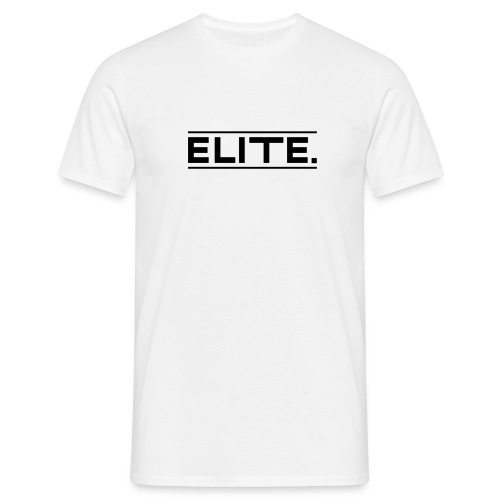 elite large black - Men's T-Shirt