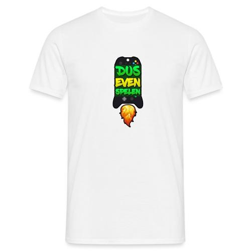 Logo luka rocket zwart - Mannen T-shirt