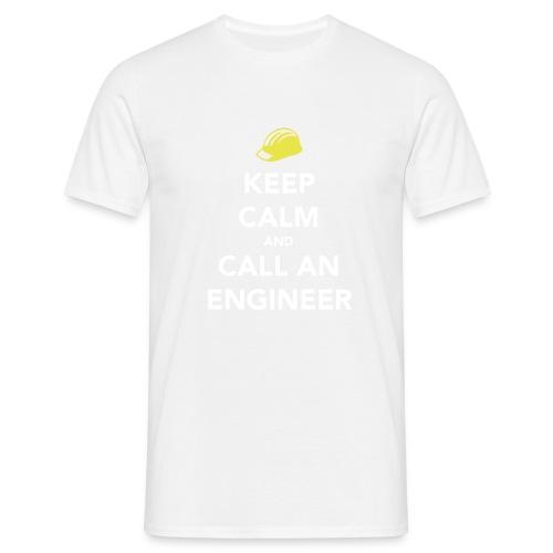Keep Calm Engineer - Men's T-Shirt