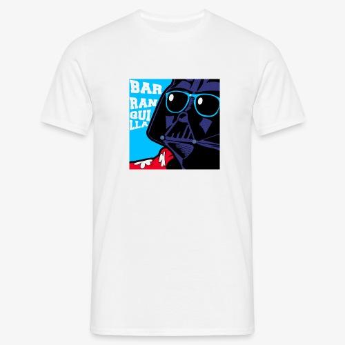 barranquilla dark vader de vacaciones2 - Camiseta hombre