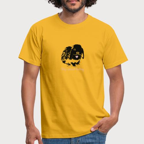 Stop animal testing - Männer T-Shirt