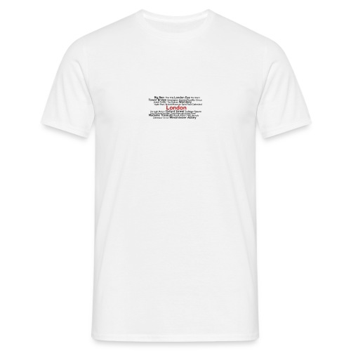 London - T-shirt Homme