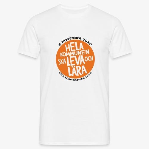 FOLKOMRÖSTNING 2020 - T-shirt herr