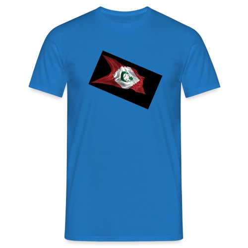 rif flag drapeau du rif de 1921 au 1927 Tamazgha.. - Mannen T-shirt