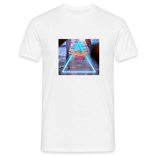 Old school neon the lying dutchman logo - Mannen T-shirt