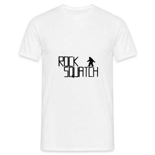 rocksquatch-logo - Men's T-Shirt
