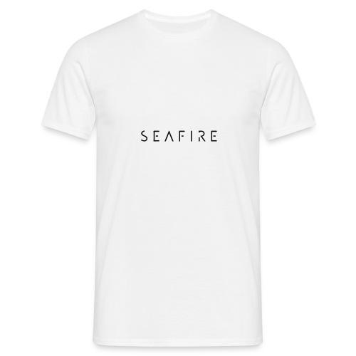 seafire logo BLACK - Mannen T-shirt