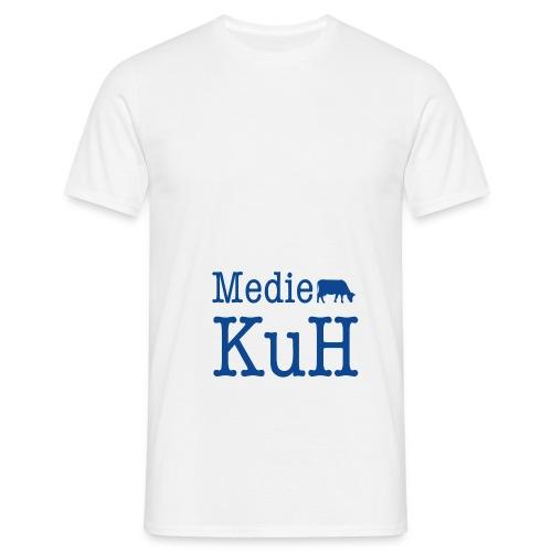 KuH-Beutel Hipster inside - Männer T-Shirt