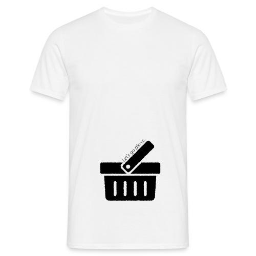 Wie ich auszog, die Welt zu retten... - Männer T-Shirt